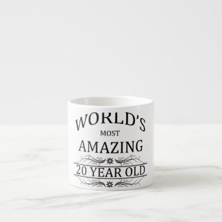 World's Most Amazing 20 Year Old. Espresso Cup