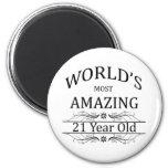 World's Most Amazing 21 Year Old Fridge Magnet