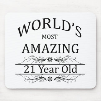World's Most Amazing 21 Year Old Mouse Pad
