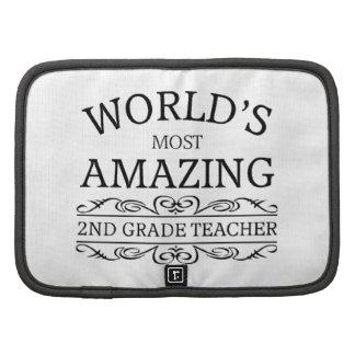 World's most amazing 2nd grade teacher folio planner