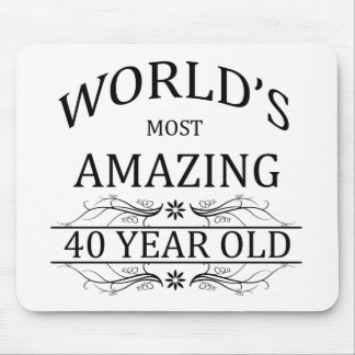 World's Most Amazing 40 Year Old Mouse Pad