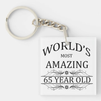 World's Most Amazing 65 Year Old Keychain