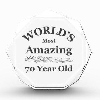 World's most amazing 70 year old award