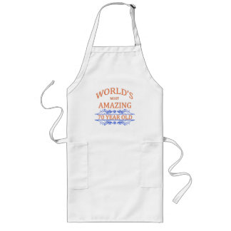 World's Most Amazing 70 Year Old Long Apron
