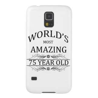 World's Most Amazing 75 Year Old Galaxy S5 Case