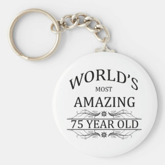 World's Most Amazing 75 Year Old Keychain