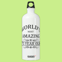 World's Most Amazing 75 Year Old Water Bottle