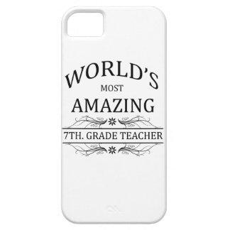 World's Most Amazing 7th. Grade Teacher iPhone SE/5/5s Case