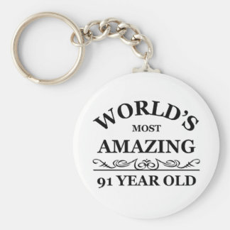 World's most amazing 91 year old keychains