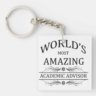 World's Most Amazing Academic Advisor Keychain
