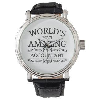 World's most amazing Accountant Wrist Watch