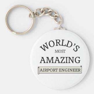 World's most amazing Airport Engineer Keychain