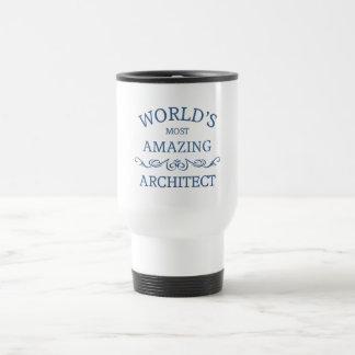 World's most amazing architect travel mug