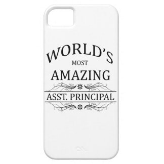 World's Most Amazing Asst. Principal iPhone SE/5/5s Case