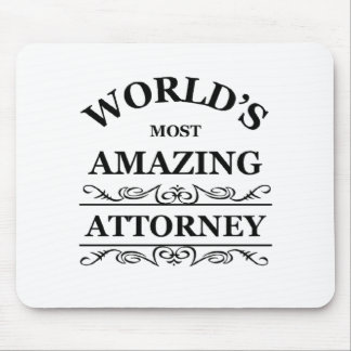 World's most amazing Attorney Mouse Pad