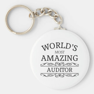 World's most amazing Auditor Keychain