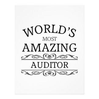 World's most amazing Auditor Letterhead