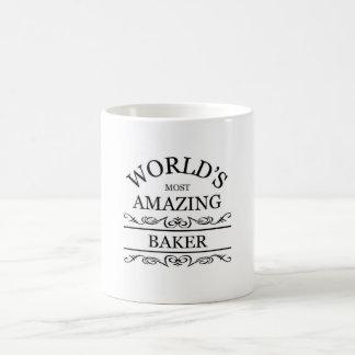 World's most amazing Baker Coffee Mugs