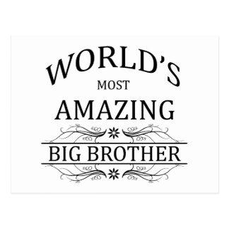 World's Most Amazing Big Brother Postcard