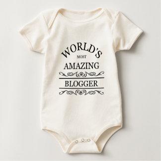 World's most amazing Blogger Baby Bodysuit