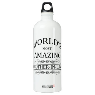 World's Most Amazing Brother-In-Law SIGG Traveler 1.0L Water Bottle