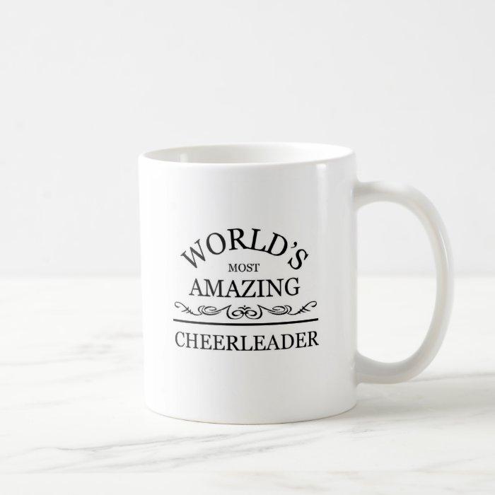 World 39 S Most Amazing Cheerleader Coffee Mug Zazzle