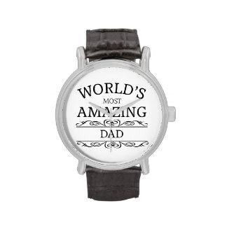 World's most amazing dad wrist watch