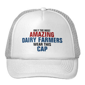 World's most amazing Dairy farmer Mesh Hats