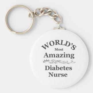 World's most amazing Diabetes Nurse Keychain