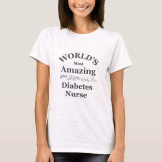 World's most amazing Diabetes Nurse T-Shirt