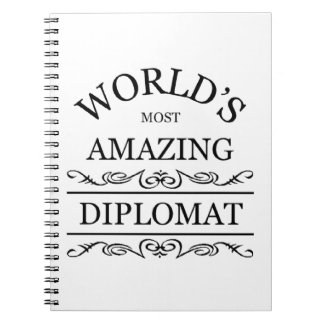 World's most amazing Diplomat Notebook