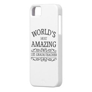 World's most amazing first grade teacher iPhone SE/5/5s case