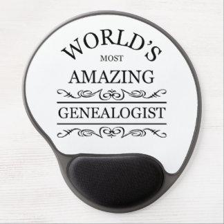 World's most amazing Genealogist Gel Mouse Pad