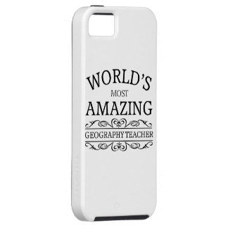 World's most amazing geography teacher iPhone SE/5/5s case