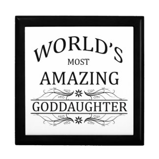 World's Most Amazing Goddaughter Gift Boxes