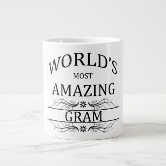 World's Most Amazing Gram Large Coffee Mug
