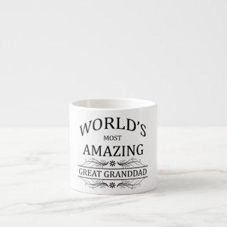 World's Most Amazing Great Granddad 6 Oz Ceramic Espresso Cup