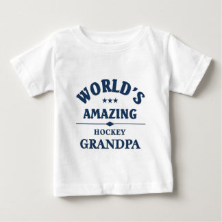 World's most amazing Hockey Grandma Baby T-Shirt