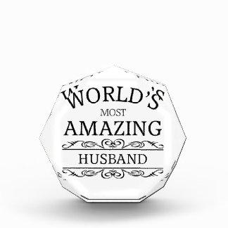 World's most amazing husband awards