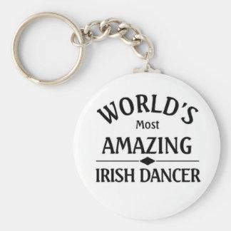 World's most amazing Irish dancer Keychain