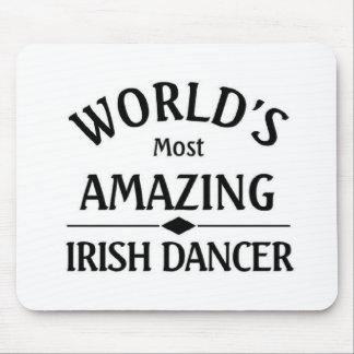 World's most amazing Irish dancer Mouse Pad