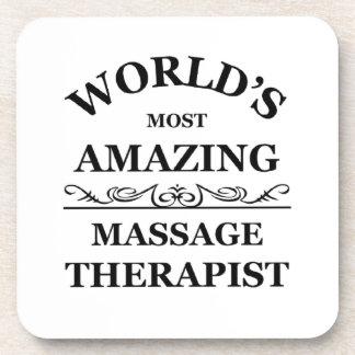 World's most amazing Massage Therapist Coaster