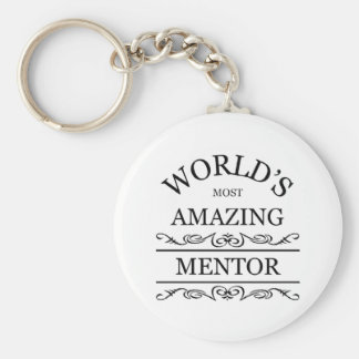 World's most amazing mentor keychain