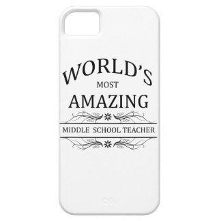 World's Most Amazing Middle School Teacher iPhone SE/5/5s Case