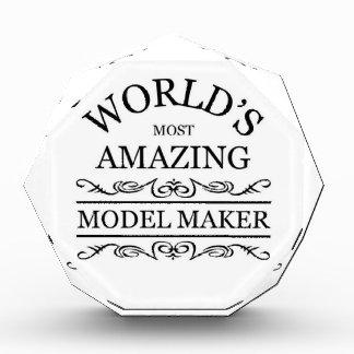 World's most amazing Model maker Acrylic Award