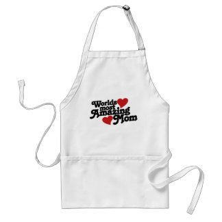 Worlds most amazing mom adult apron
