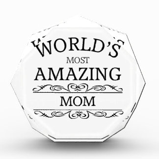 World's most amazing Mom Award