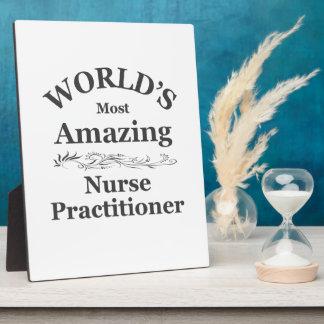 World's most Amazing Nurse Practitioner Plaque