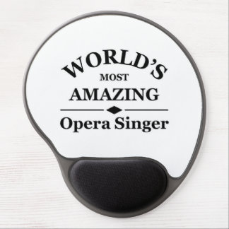 World's most amazing opera singer gel mouse mats