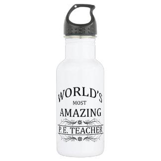 World's Most Amazing P.E. Teacher Water Bottle